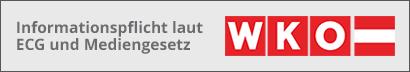 Informationen laut ECG und Mediengesetz der WKO.at